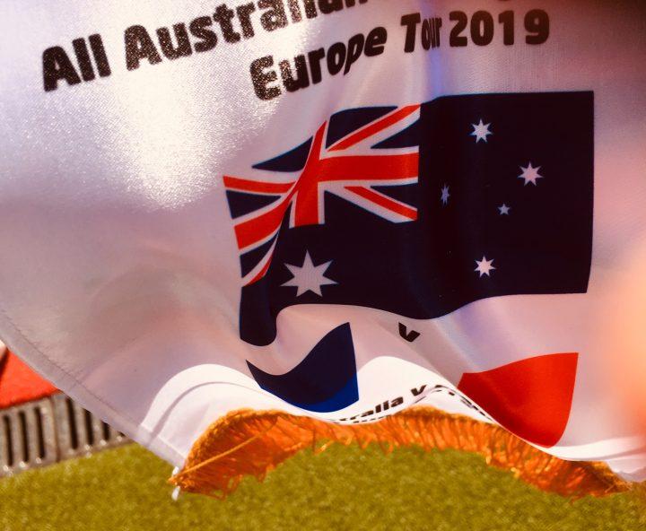 Match France-Australie hockey sur gazon